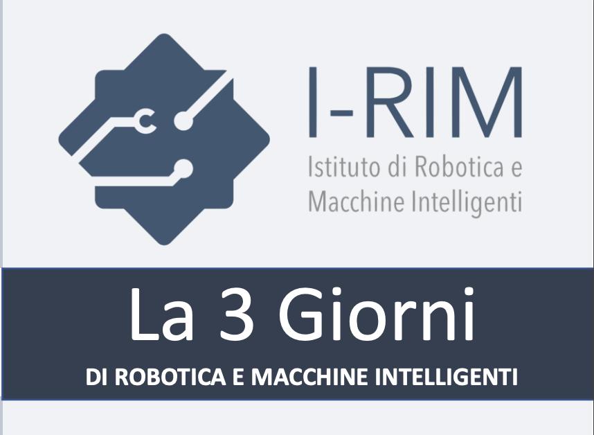 I-RIM 3D, la tre giorni di robotica e macchine intelligenti