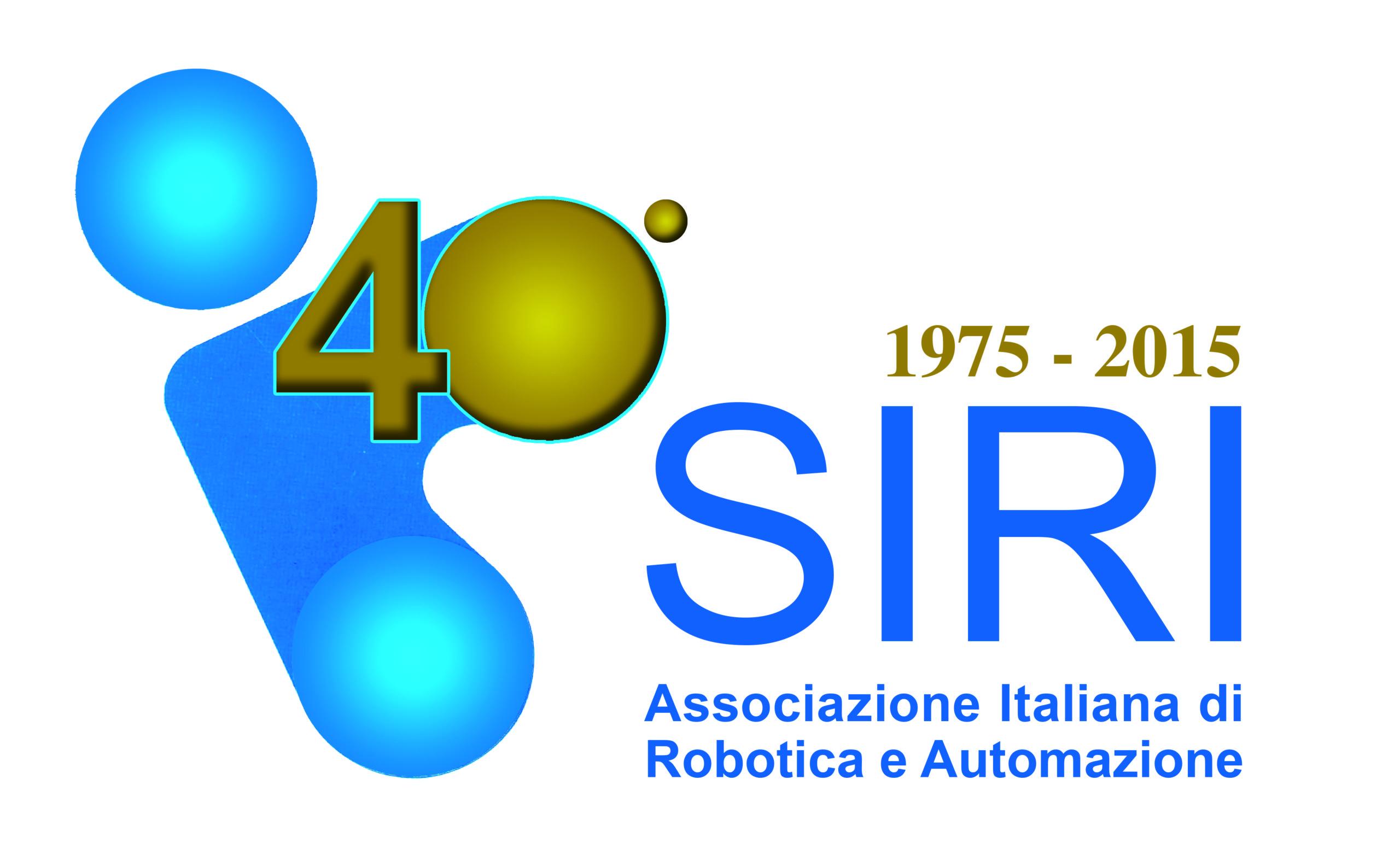 ROBOSIRI ASSOCIAZIONE ITALIANA ROBOTICA 40 ANNI