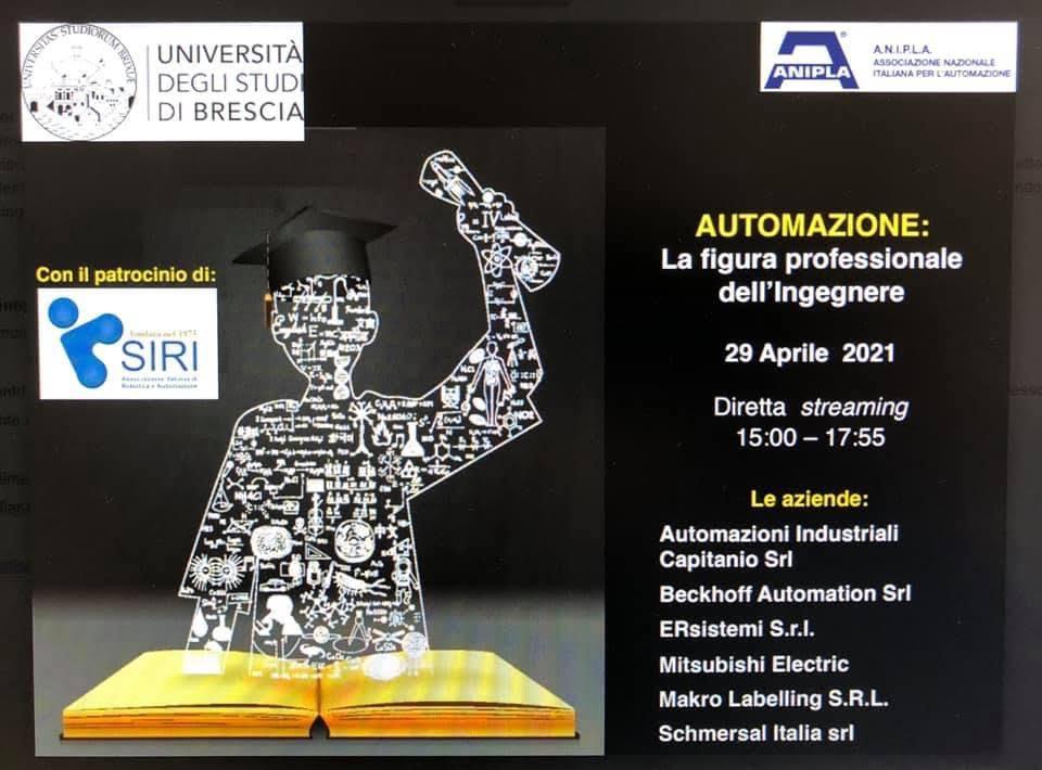 29 aprile: corso per studenti di Ingegneria dell'Automazione